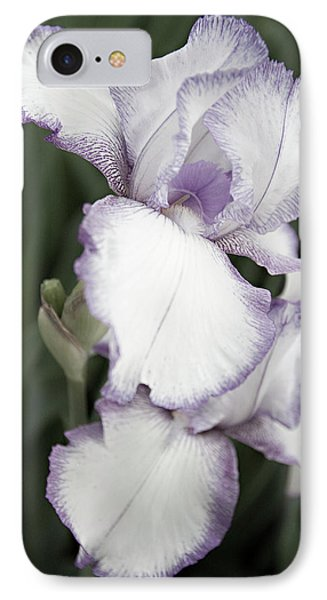 IPhone Case featuring the photograph Purple Is Passion by Sherry Hallemeier