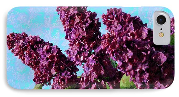 Purple Lilac 2 Phone Case by Jean Bernard Roussilhe