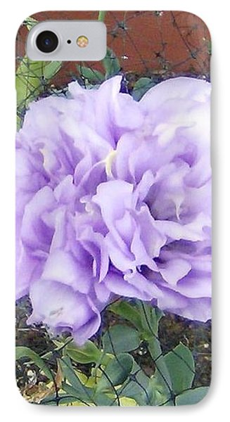 IPhone Case featuring the photograph Purple Lisianthus by Skyler Tipton