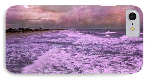 Purple Majesty  IPhone Case by Betsy Knapp