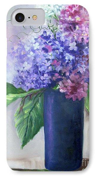 Purple Majesty Hydrandeas IPhone Case