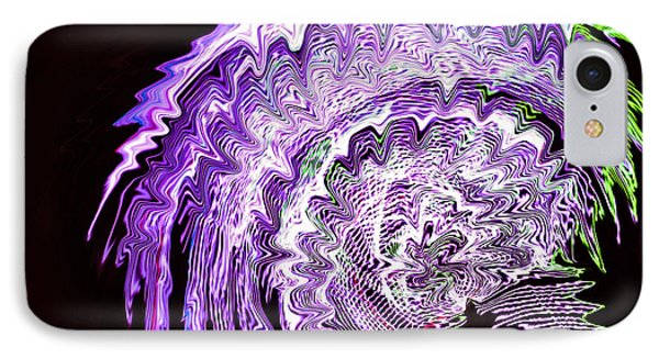 Purple Mushroom IPhone Case by Linda Constant