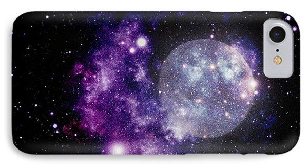 Purple Nebula IPhone Case
