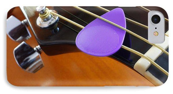 Purple Pick IPhone Case
