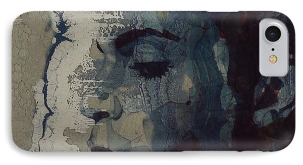 Rhythm And Blues iPhone 7 Case - Purple Rain - Prince by Paul Lovering
