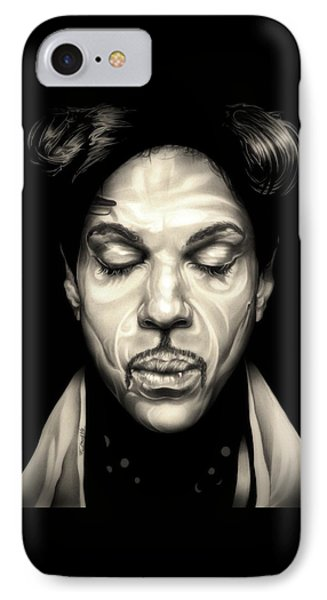 Purple Reign IPhone Case by Fred Larucci