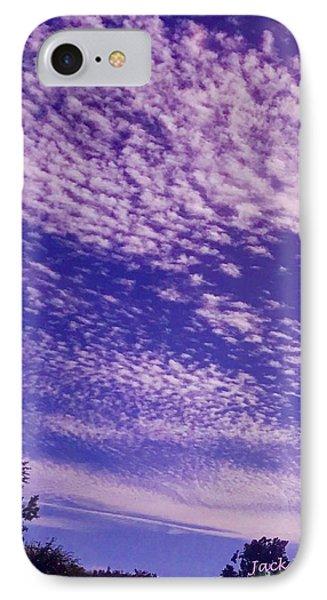 Purple Sky At Casapaz Phone Case by Jack Eadon