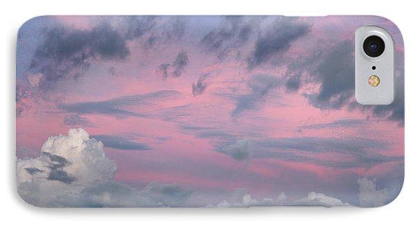 Purple Sunrise IPhone Case by Tim Fitzharris