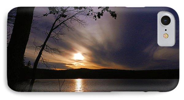 Purple Sunset IPhone Case by Bruce Brandli