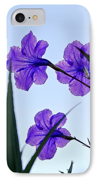 Purple Trio Phone Case by Christopher Holmes