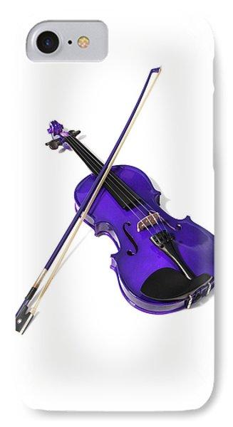 Purple Violin IPhone Case