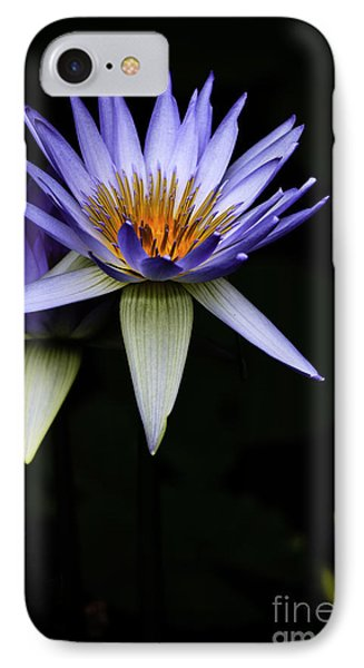 Purple Waterlily IPhone Case