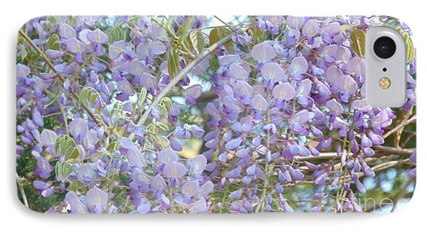 Purple Wisteria IPhone Case by Charlotte Gray