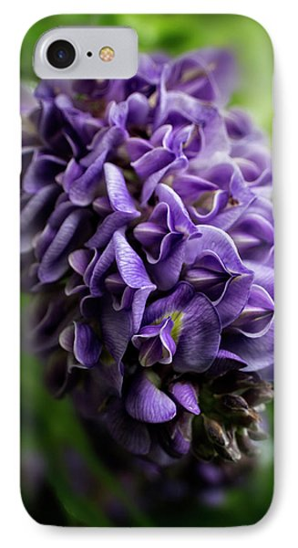 Purple Wisteria IPhone Case by Greg and Chrystal Mimbs