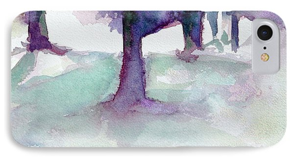 Purplescape II IPhone Case by Jan Bennicoff