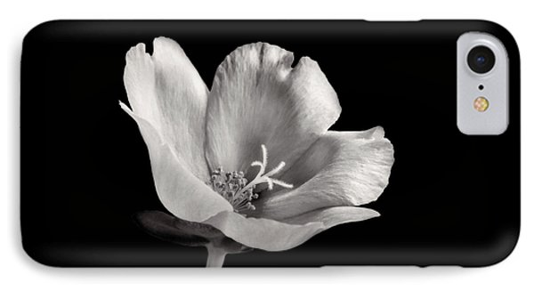 IPhone Case featuring the photograph Purslane In Monochrome by David and Carol Kelly