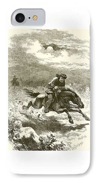 Pursuit Of Paul Revere IPhone Case