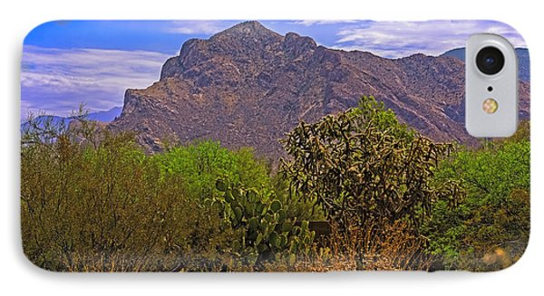 IPhone Case featuring the photograph Pusch Ridge Morning H10 by Mark Myhaver