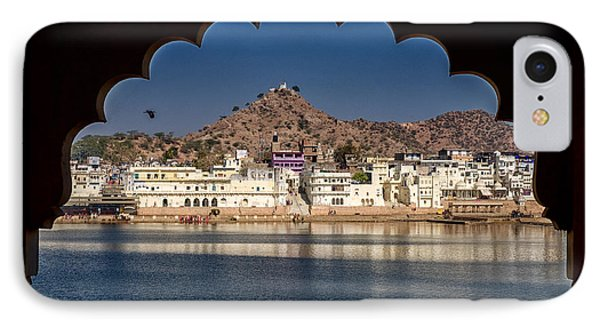 IPhone Case featuring the photograph Pushkar Lake by Yew Kwang