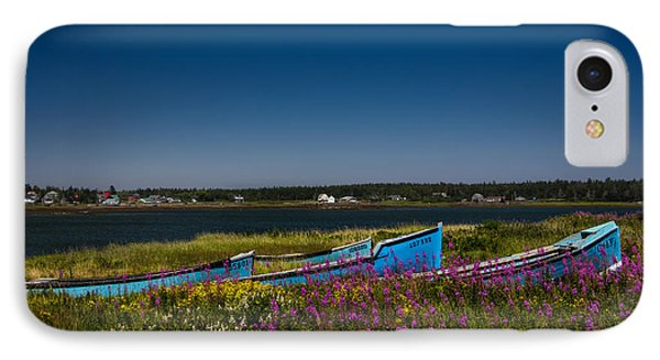 Put Out To Pature IPhone Case by Peter Scott