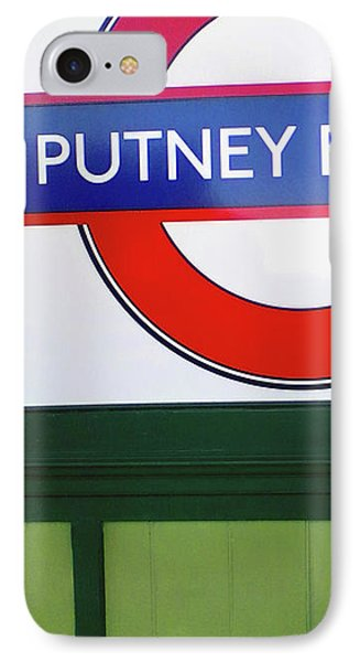 IPhone Case featuring the photograph Putney Bridge by Rebecca Harman
