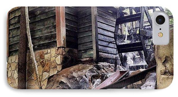 Rustic Water Wheel Phone Case by Jen McKnight