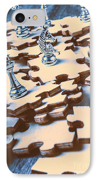 Puzzle Of Mysteries And Strategy IPhone Case by Jorgo Photography - Wall Art Gallery