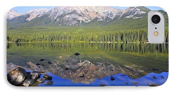 Pyramid Lake Reflection IPhone Case by Teresa Zieba