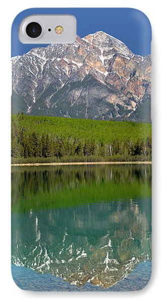 Pyramid Mountain Reflection IPhone Case