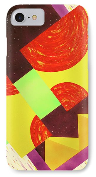 IPhone Case featuring the painting Pyramids And Pepperoni by Thomas Blood