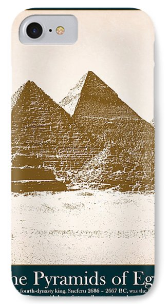 Pyramids Of Egypt IPhone Case