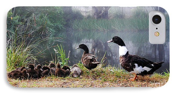 Quack Quack Ducks And A Pond IPhone Case by Lexa Harpell