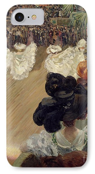 Quadrille At The Bal Tabarin IPhone Case by Abel-Truchet