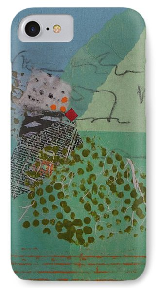 Quail Track IPhone Case by Catherine Hollander
