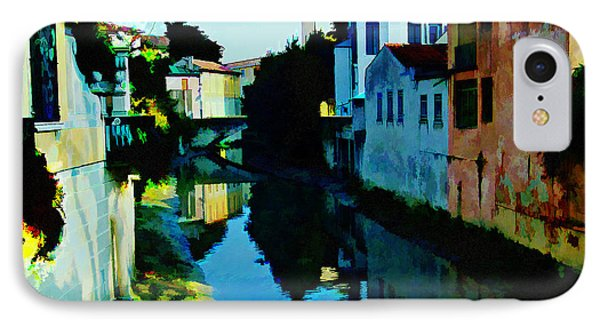 IPhone Case featuring the photograph Quaint On The Canal by Roberta Byram