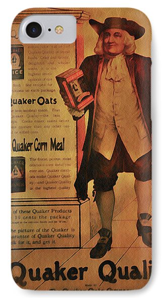 Quaker Quality IPhone Case by Bill Cannon