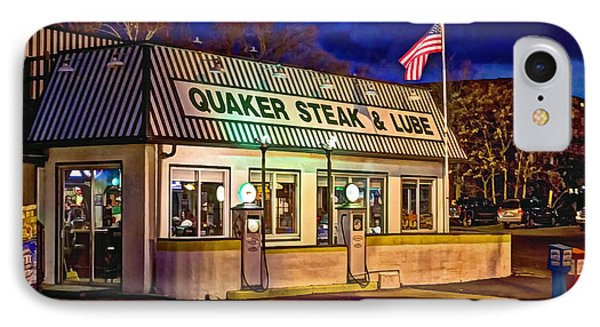 Quaker Steak And Lube IPhone Case by Skip Tribby