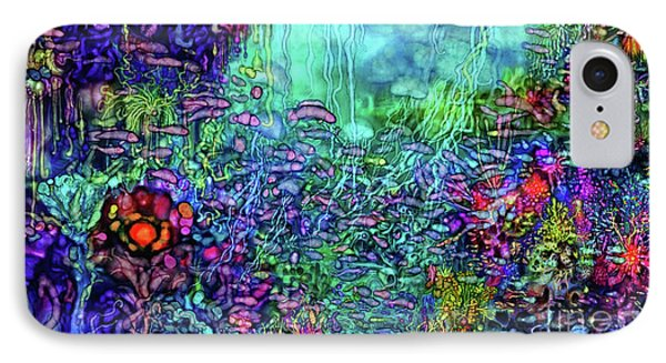 IPhone Case featuring the digital art Qualia's Reef by Russell Kightley
