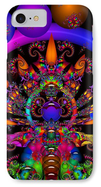 IPhone Case featuring the digital art Quantum Physics by Robert Orinski