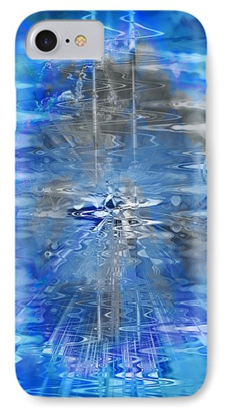 IPhone Case featuring the photograph Quantum Reflections by Kellice Swaggerty