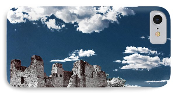Quarai New Mexico - Infrared False Color Phone Case by Christine Till
