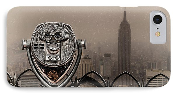 IPhone Case featuring the photograph Quarters Only by Chris Lord