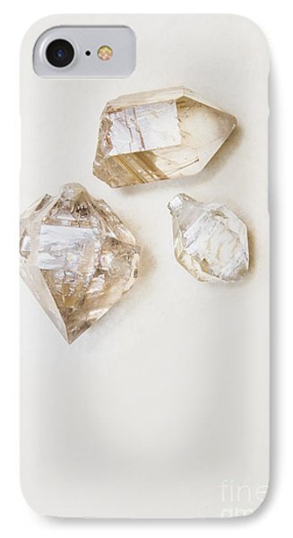 IPhone Case featuring the photograph Quartz Crystals by Jorgo Photography - Wall Art Gallery