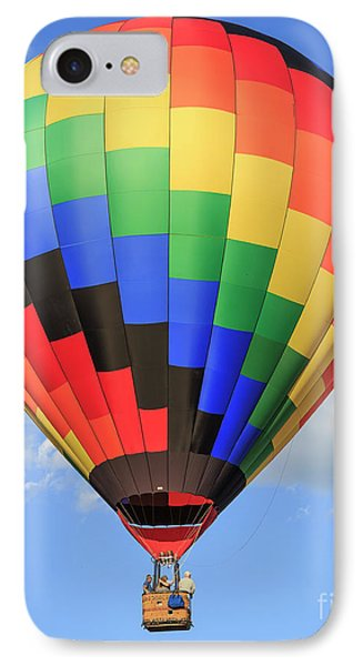 Quechee Vermont Hot Air Balloon Fest 3 IPhone Case by Edward Fielding