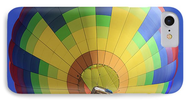 Quechee Vermont Hot Air Balloon Festival 4 IPhone Case by Edward Fielding