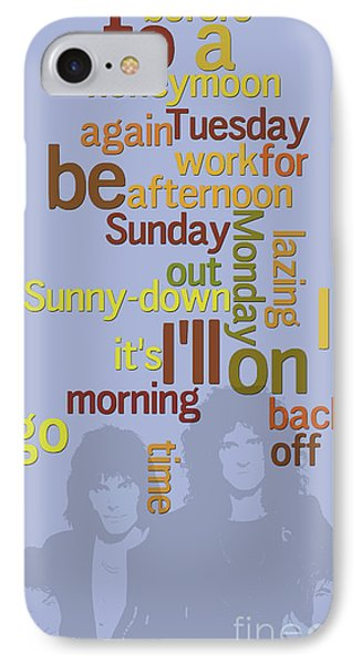 Queen. Lazing On A Sunday Afternoon. Order The Lyrics Game. IPhone Case