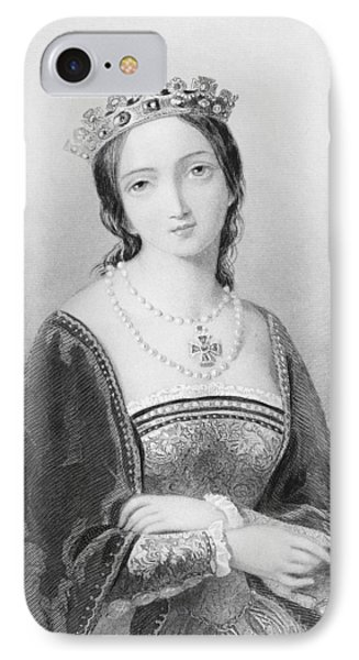 Bloody Mary iPhone 7 Case - Queen Mary I, Aka Mary Tudor, Byname by Vintage Design Pics
