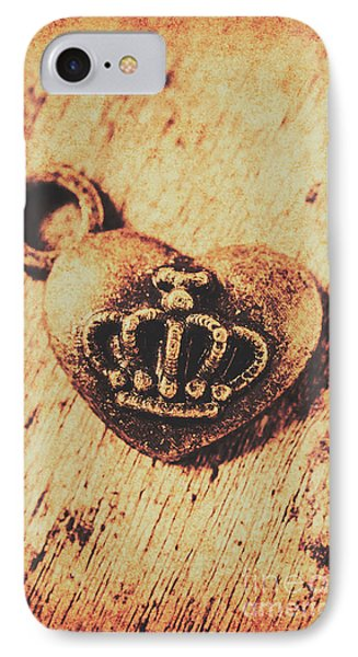 Queen Of Hearts Charm IPhone Case