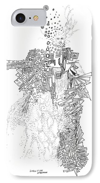 Queen Of The Afternoon Phone Case by Regina Valluzzi