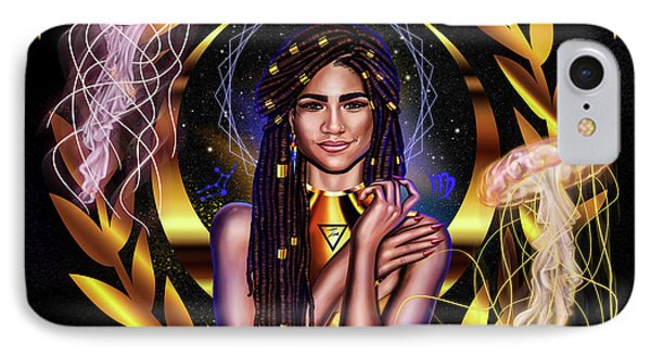 Queen Zendaya No.2 IPhone Case by Kenal Louis